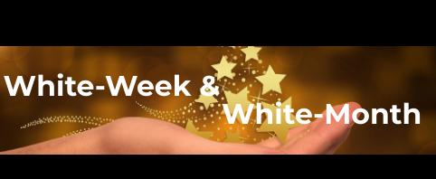 White Week - Gegenpol zu Black Week Konsum  - Aktion der Lebensfreude-Akademie