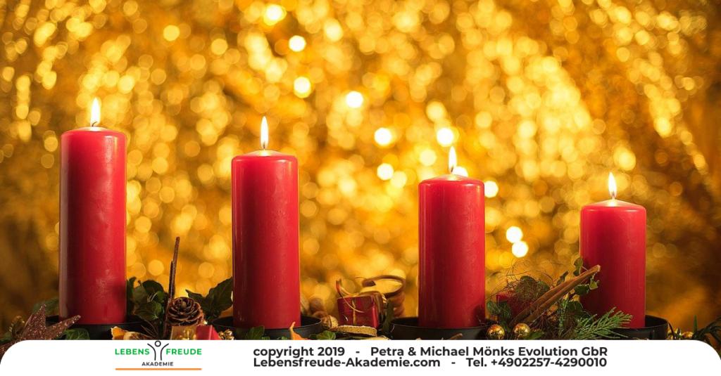 4 Kerzen Advent - Werte - Leuchten