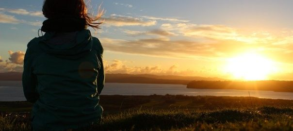 Stille in dir - Sonnenuntergang